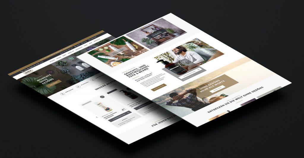 Alaventa GmbH Referenz Jean&Len Onlineshop responsive Design
